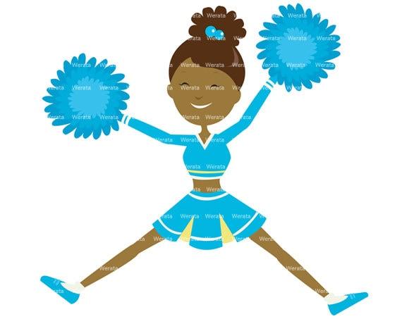 cheerleader clipart cheerleader clip art digital clipart