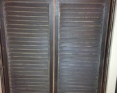 Reserved-Saloon Doors (With Mounting Brackets)
