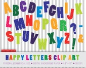 30 alphabet clipart, alphabet clip art, abc clipart, children alphabet, alphabet letters, letters clipart, letters, uppercase