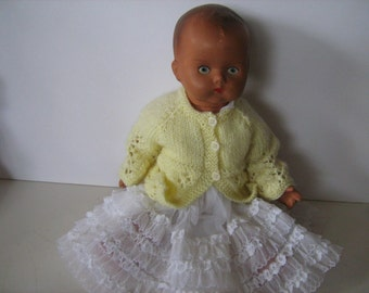 Very Pretty Composition Vintage Doll