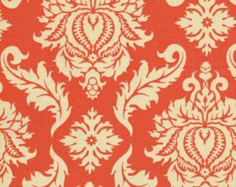 1 Yard JOEL DEWBERRY Aviary 2 Damask /Saffron FreeSpirit Fabric