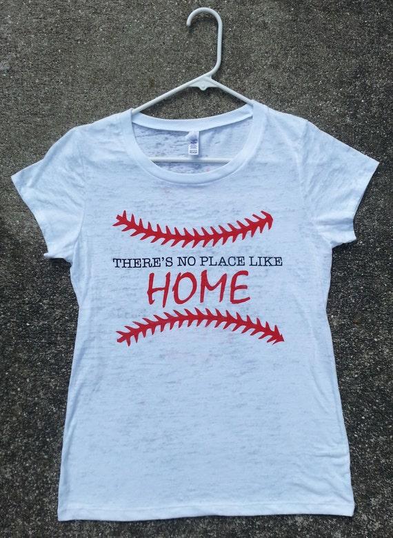 Baseball MOM HOME Custom Burnout/T-shirt by CraveGraphix ...
