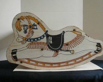 Childs Early Rocking Horse Circa 1950s
