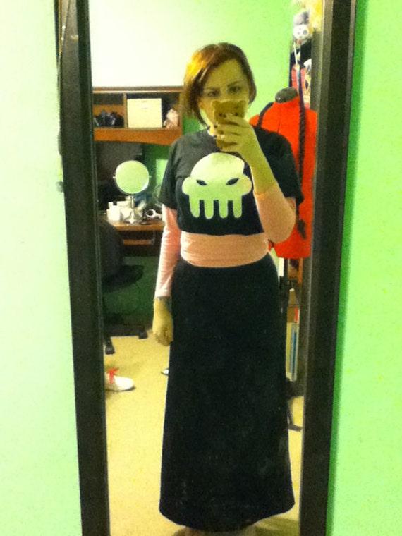 Grimdark/Dark Goth Girl Comic Costume/Cosplay - Full Outfit