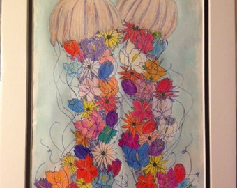 2 Fancy-Mixed Jellyfish Bouquet