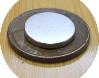 "50 Neodymium disc 1/2 inch X 1/16"" rare earth magnets great for bottle caps - USA SELLER"