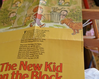 Poster of The New Kid on the Block by Jack Prelutsky-- children/kid literature
