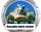 Huge 19 inch Hanmade Turtle REMOVABLE REUSEABLE Canvas