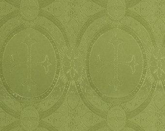 Church fabric moss green
