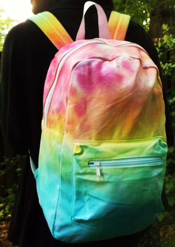 Ombre Tie Dye Day Pack Backpack