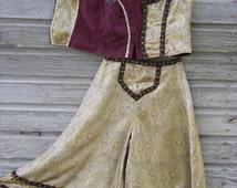 Steampunk neo-Victorian Old West horse show & wedding costume