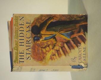 "Vintage 1944 - 1946 Nancy Drew Mystery- ""The Hidden Staircase"""