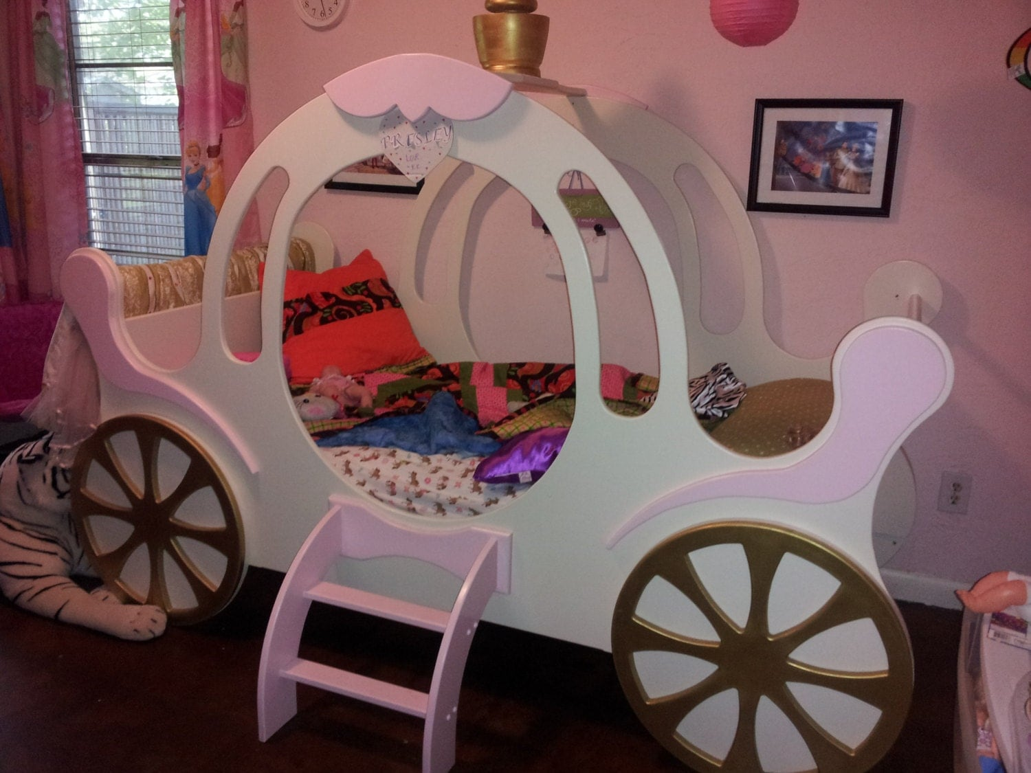 child u0026 39 s princess carriage bed by stollfurnituredesign on etsy
