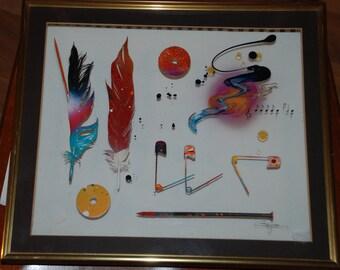 Assemblage Art by David Gorjean