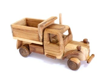 Wooden Toy Truck 01 in Handmade