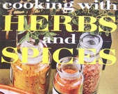 Vintage Cookbook 1960s Better Homes and Gardens Cooking with Herbs and Spices