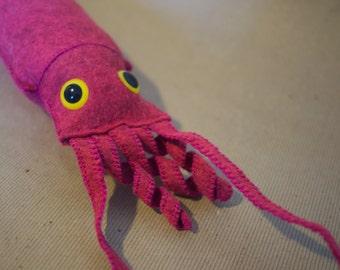 Stuffed Squid Softie Large Kraken Plush Toy