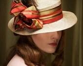 Straw Hat Boater Summer Hat