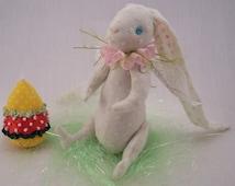 easter bunny pattern pdf Instant Download - wOnDerLand FaiRy RabBiT - Bunny Pattern Printable - cloth art doll - Paula's Doll House