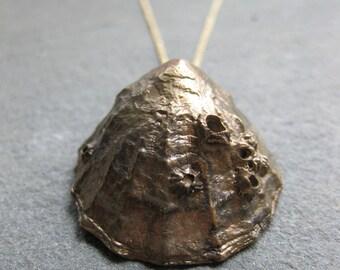 Bronze St. Finian's Bay LIMPET necklace