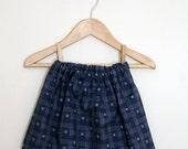 SALE - Little Red Ikat Twirly Skirt -2/3yrs