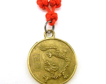 Chinese zodiac dragon necklace