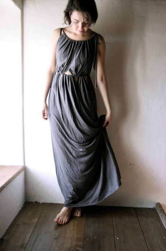 Grey Greek Dress