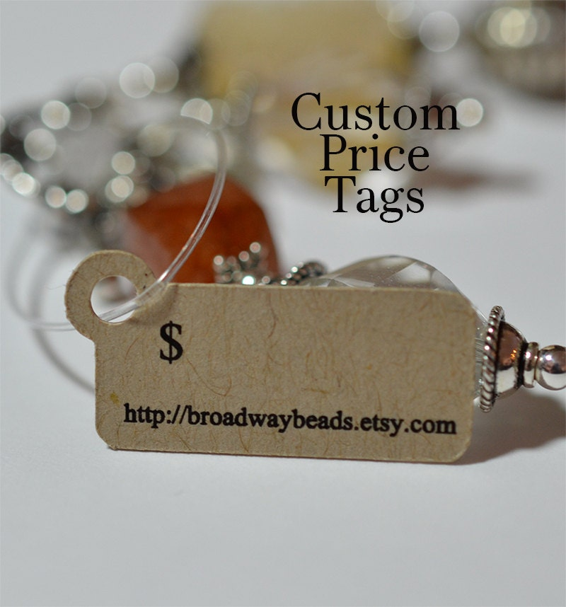 Custom Jewelry Tags Hang Tags for Products Price Tags 00051a