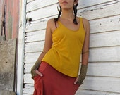 Organic Built in Bra Tank Simplicity Shirt (Light hemp/organic cotton Knit)