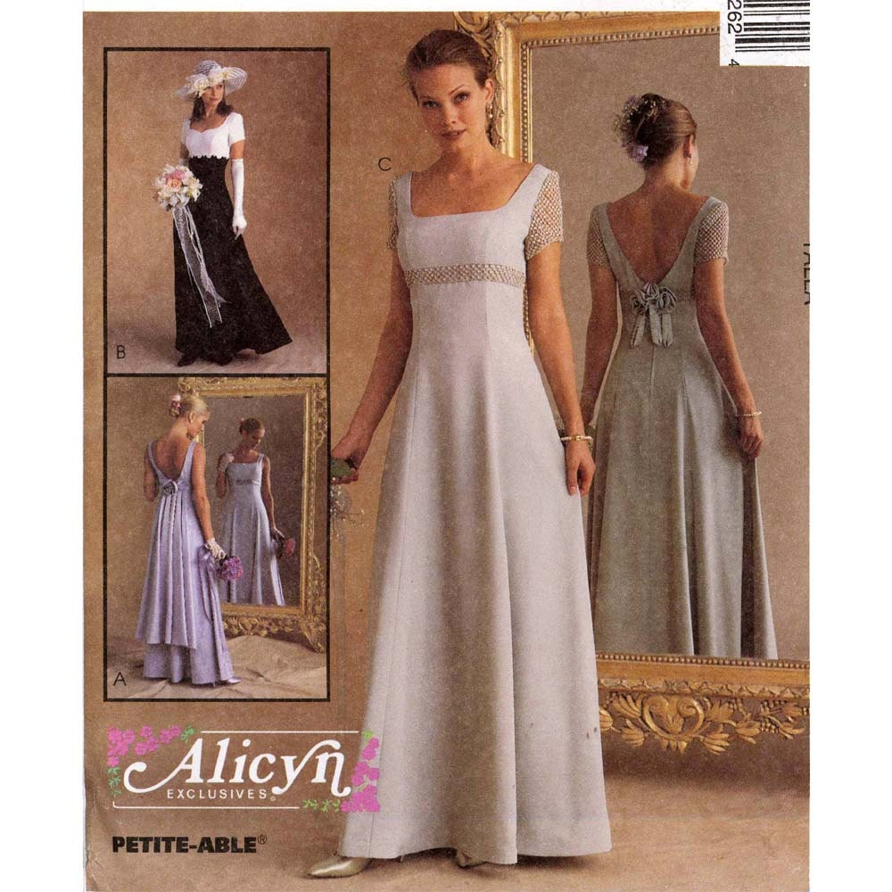 Brides Romantic Wedding Gown Or Bridesmaid Dress Sewing