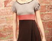 Reconstructed Dress - buttercup - small/medium
