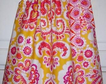 Pillowcase Dress Damask Dress Jennifer Paganelli Honey Child Modern Dress Floral Dress For Baby Summer Dresses Boutique Dresses Sundresses