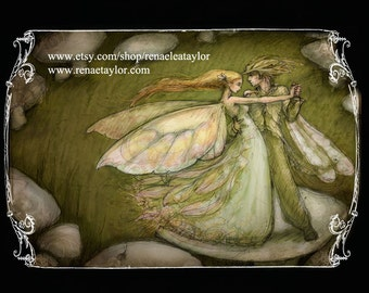 The Faeries Walts.......postcard by renae taylor