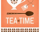Tea Time : Coral