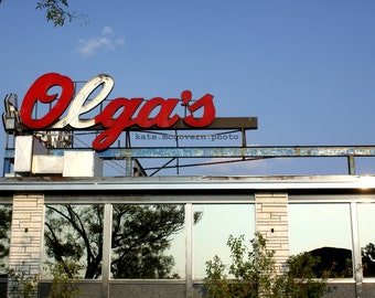 READY TO SHIP: Olga's Diner 8x10 matte photo print