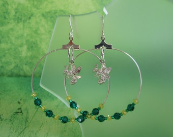Sac State Hornets - College Hoop Earrings