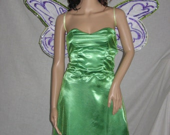 Tinkerbell fairy princess costume with wings