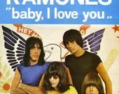 01 The Ramones diy tote bag purse