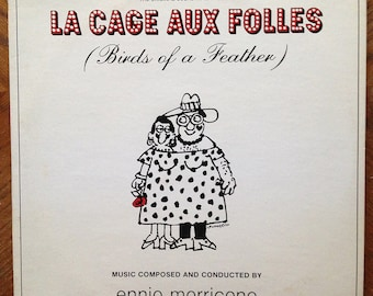 La Cage Aux Folles LP -  CEM-S 0102 Original Motion Picture Soundtrack