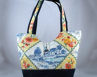 Upholstery Fabric Tote Naomi 06