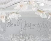 fairy lights - a light strand of pretty petals