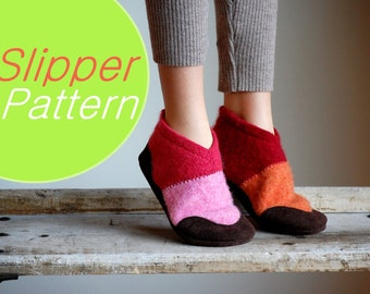 Sewing Pattern for Kids Shoes, PDF Instant Download, by Wooly Baby, Kids sizes 7.5, 9.5, 11.5, 13, 2.5