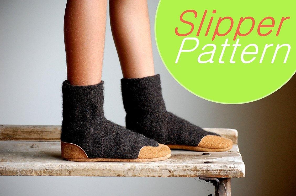 Wool Slipper Pattern Pdf