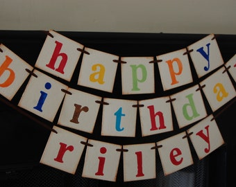 birthday decorations banner sign photoprop