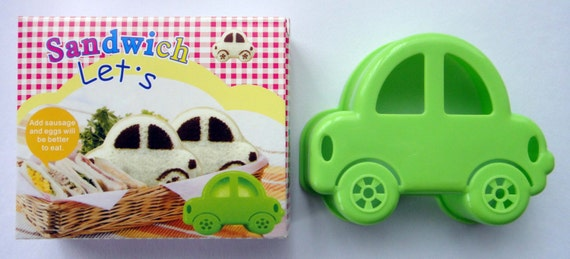 Cute Car Shape Sandwich Maker Cutter Stencil Shaper