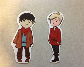 MERLIN -  Stickers - Merlin and Arthur