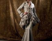 Victorian Steampunk Pattern Mermaid Skirt Bustle Bloomers Jacket Tailcoat Plus Size 12 14 16 18 20 McCalls 6770