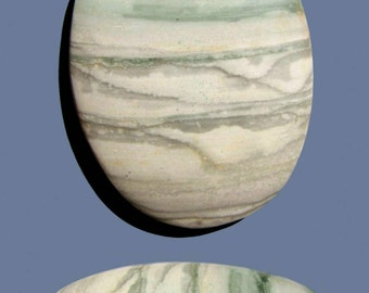 Scenic Porcelain Jasper Cabochon