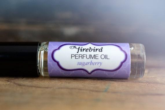 Sugarberry Perfume Oil - Spun Sugar, Juicy Blackberries