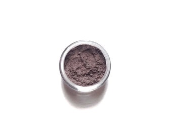 Dusk - Brownish Purple Mineral Eyeshadow - Handcrafted Makeup